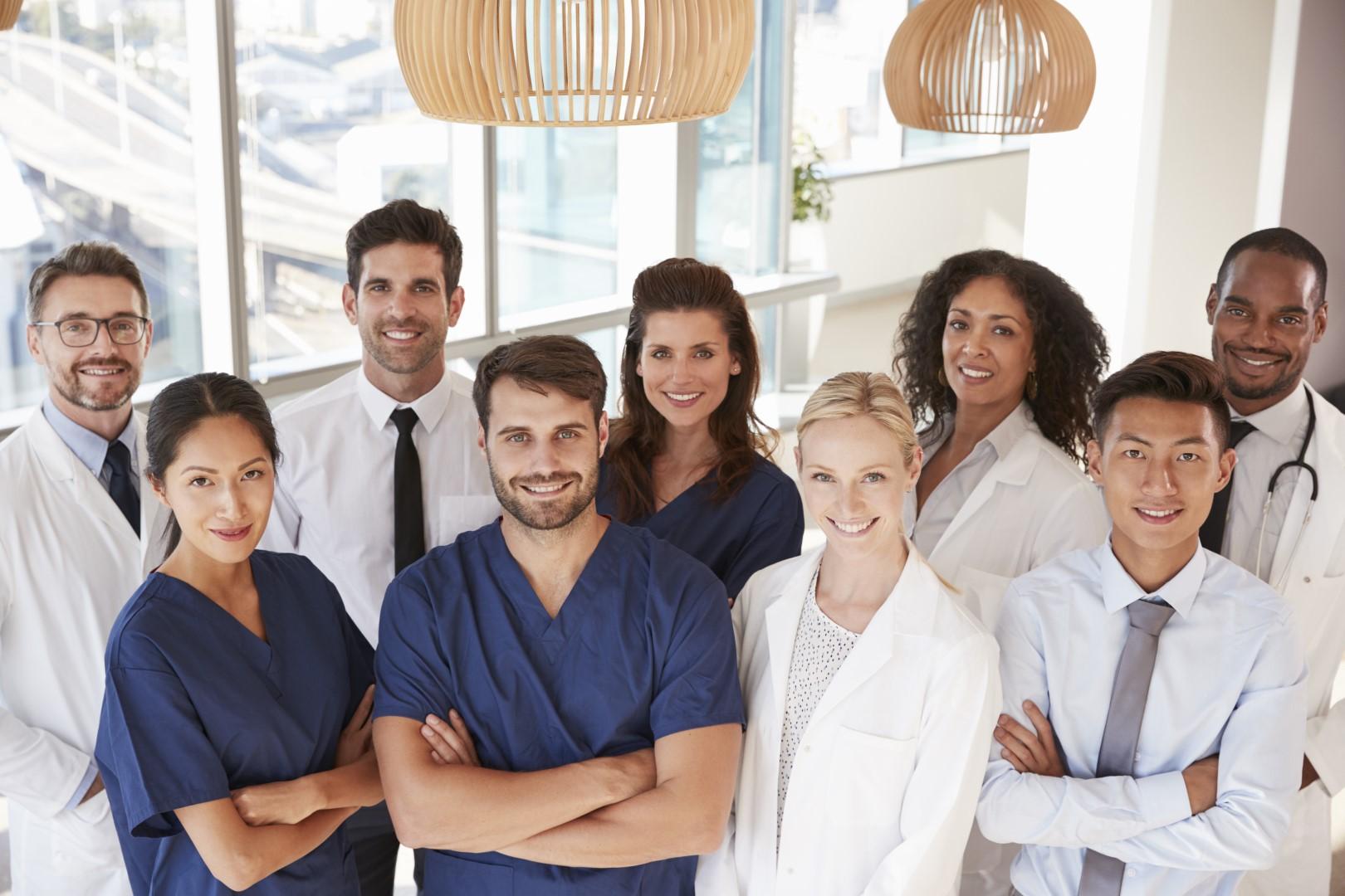 Image of medical team.